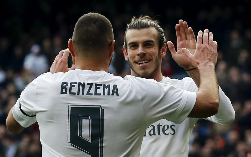 bale and benzema